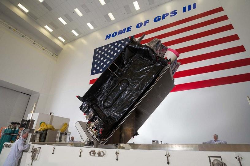 Drugi GPS III został przetransportowany w marcu na przylądek Canaveral w celu wystrzelenia zaplanowanego na lipiec /materiały prasowe