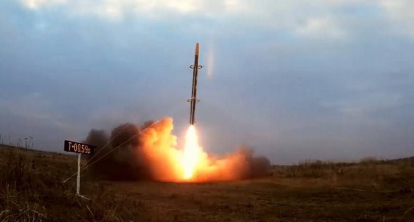 Drugi lot rakiety BIGOS 4 /materiały prasowe