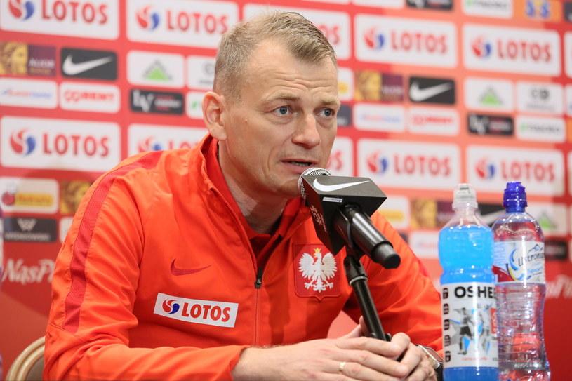 Drugi trener reprezentacji Polski Bogdan Zając /Leszek Szymański /PAP