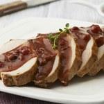 Drugie danie - schab pieczony w świątecznym sosie