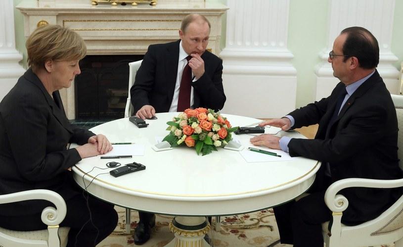 Drugie dno rozmów w Moskwie? /PAP/EPA