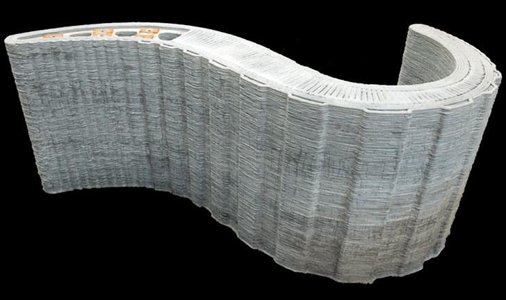 Drukarka 3D produkująca elementy betonowe zrewolucjonizuje budownictwo (Fot. Loughborough University) /materiały prasowe