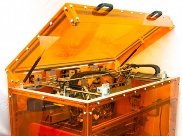 Drukarka 3D stworzona przez MIT /materiały prasowe