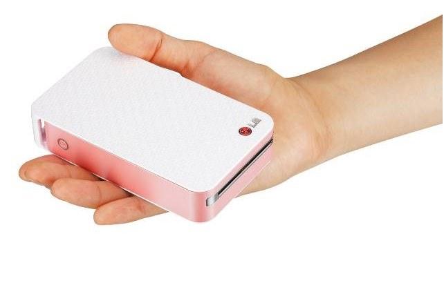 Drukarka LG Pocket Photo Printer /materiały prasowe
