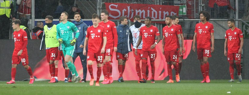 Drużyna Bayernu Monachium /AFP
