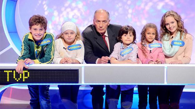 """Drużyna """"Dzieci TVP"""" /  /Agencja W. Impact"""