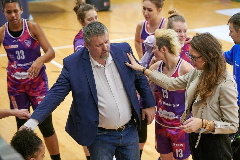 Drużyna KS Basket 25 Bydgoszcz /PIOTR JARUGA / 400mm.pl / NEWSPIX.PL /Newspix