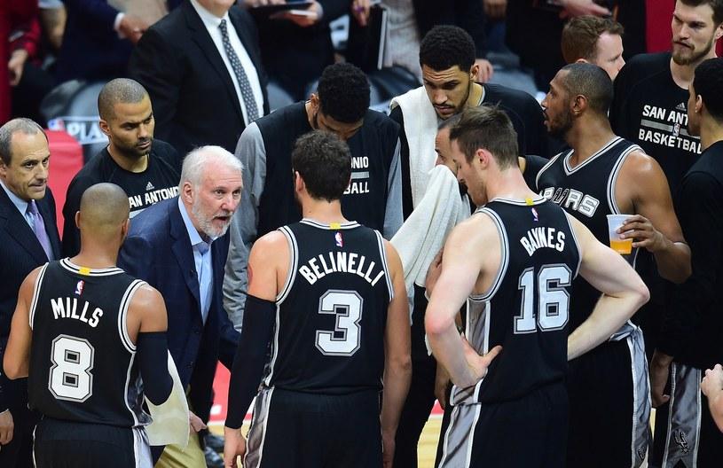 Drużyna San Antonio Spurs /AFP