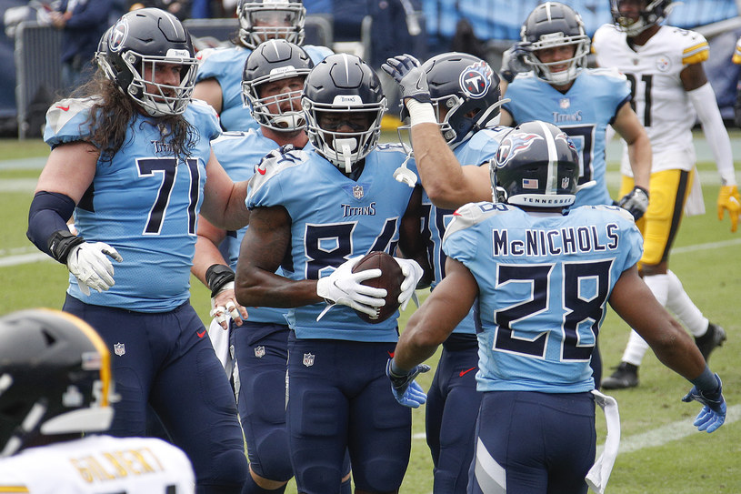 Drużyna Tennessee Titans /Getty Images