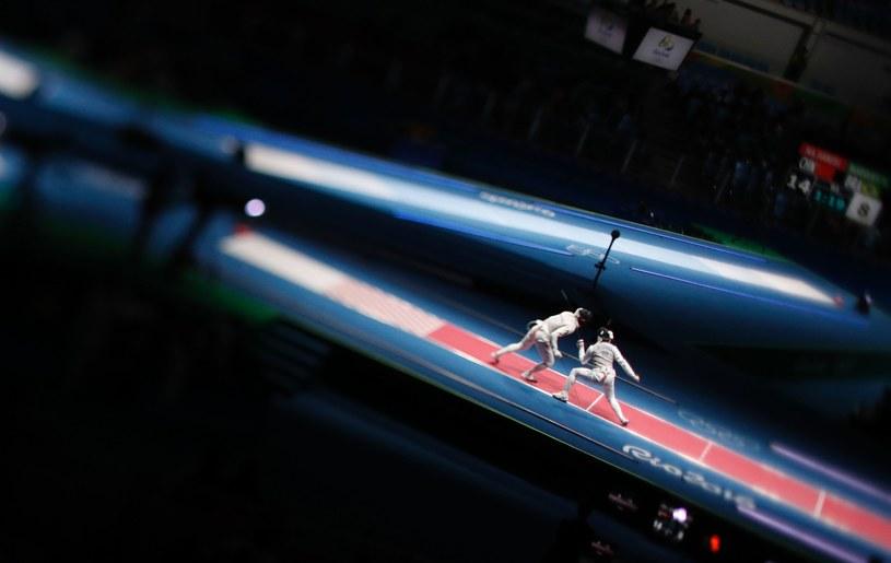Drużynową rywalizację szpadzistów wygrali Francuzi /AFP