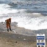 Dryfujące skupisko śmieci u wybrzeży Dominikany