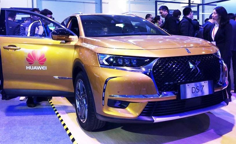 DS 7 - pierwszy samochód wyposażony w HUAWEI Connected Car /materiały prasowe