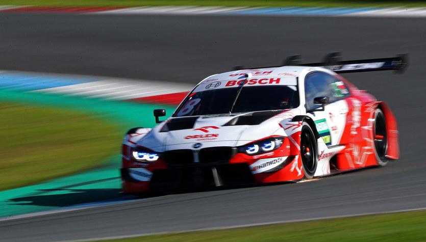 DTM. Robert Kubica zajął 13. miejsce po pierwszym treningu na torze Nuerburgring
