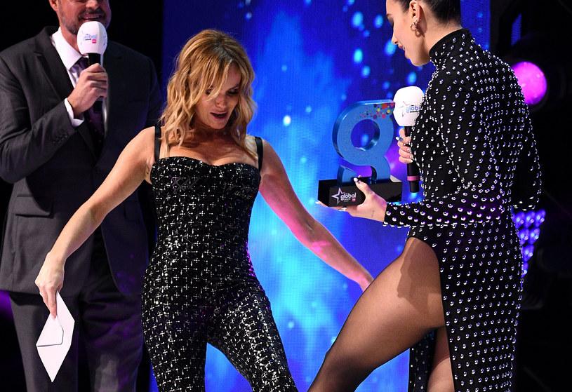 Dua Lipa na gali Global Awards /Scott Garfitt /Getty Images