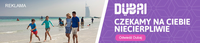 Dubai Travel Advrobance conent box /materiały promocyjne