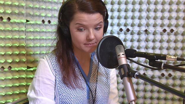 Dubbing jest naprawdę trudną sztuką - przekonuje Joanna Jabłczyńska / fot. Gałązka /AKPA