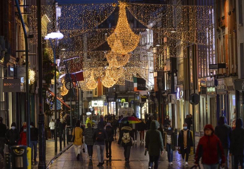 Dublin przygotowuje się do Bożego Narodzenia /Artur Widak/NurPhoto /Getty Images