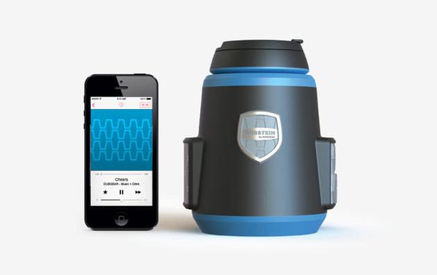 Dubstein łączy się z innymi urządzeniami dzięki Bluetooth. /materiały prasowe