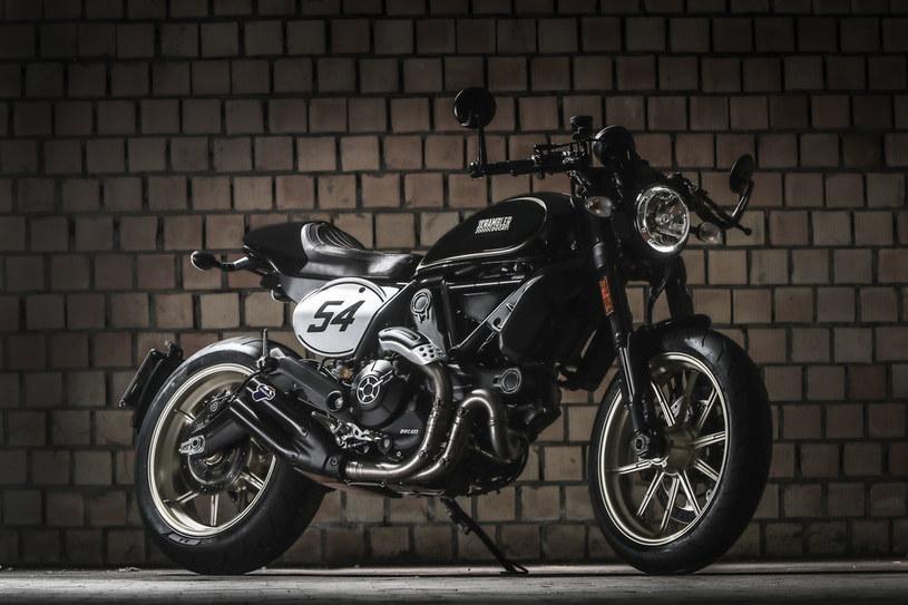 Ducati Scrambler Café Racer /