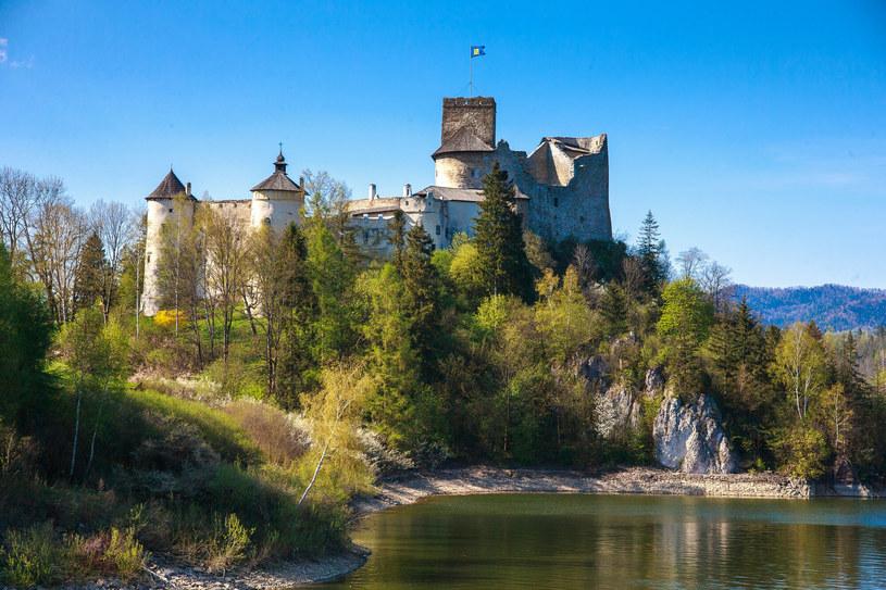 Duch Bolesława na zamku w Niedzicy błaga Brunhildę o przebaczenie... /Michał Woźniak /East News