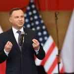 Duda do Polonii w USA: Proszę, abyście byli razem