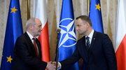Duda i Macierewicz w Orzyszu powitają batalion NATO