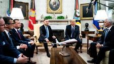 """Duda i Trump deklarują """"pogłębianie współpracy obronnej i rozwój polskiej energetyki jądrowej"""""""