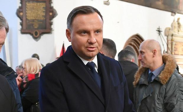 Duda o zabójstwie Adamowicza: Wątpię, by można było mówić o mordzie politycznym
