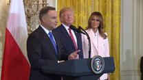"""Duda składa życzenia Trumpowi i śpiewa """"Sto lat"""" z Polonią"""