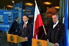Duda w Estonii. Pierwsza podróż zagraniczna prezydenta