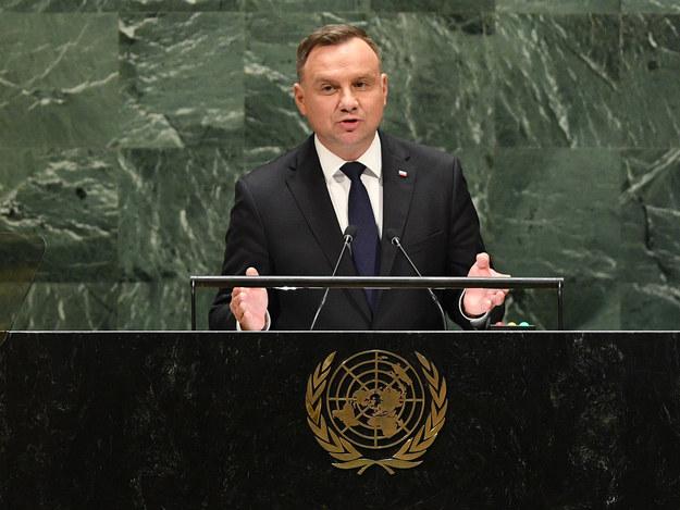 Duda w siedzibie ONZ: Odpowiedzialni za łamanie prawa międzynarodowego muszą ponieść konsekwencje