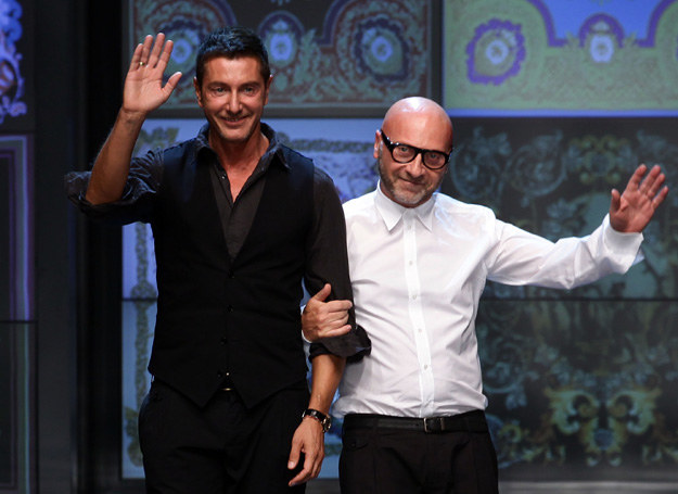 Duet modowy - Dolce & Gabbana /Getty Images