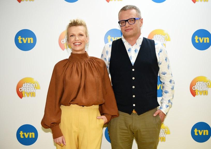 Duet Mołek&Meller pojawiał się wspólnie na antenie od 2013 roku /Justyna Rojek /East News