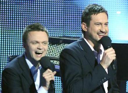 Duet prowadzących: Szymon Hołownia i Marcin Prokop /AKPA