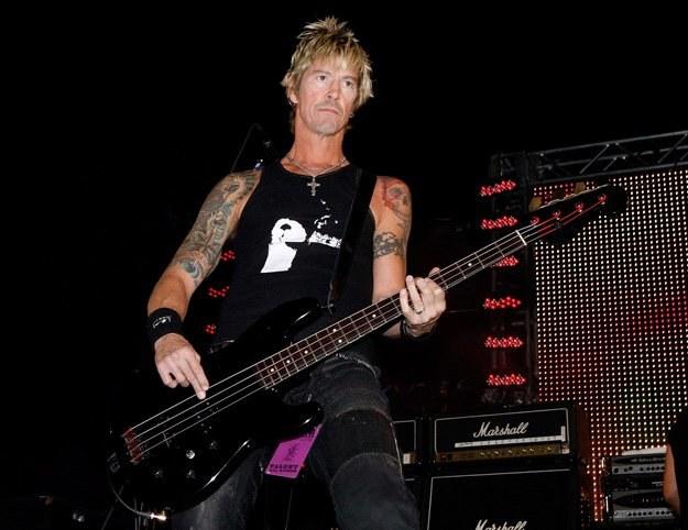 Duff McKagan ma dobre stosunki zarówno z Axlem jak i ze Slashem - fot. Ethan Miller /Getty Images/Flash Press Media