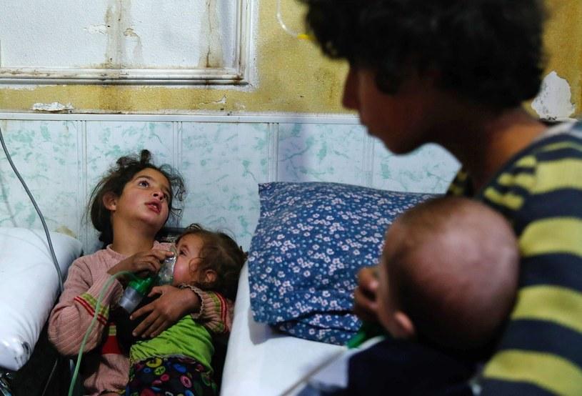 Duma, Syria. Zdjęcie z 22 stycznia 2018 r. /AFP