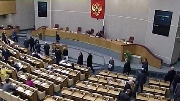 Duma w uchwale uznała Katyń za zbrodnię stalinowską /INTERIA.PL/PAP