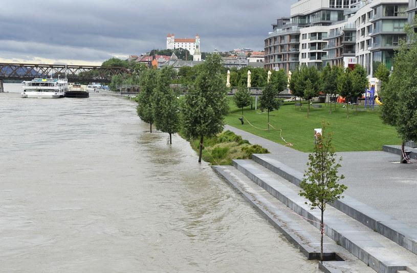 Dunaj w Bratysławie /AFP