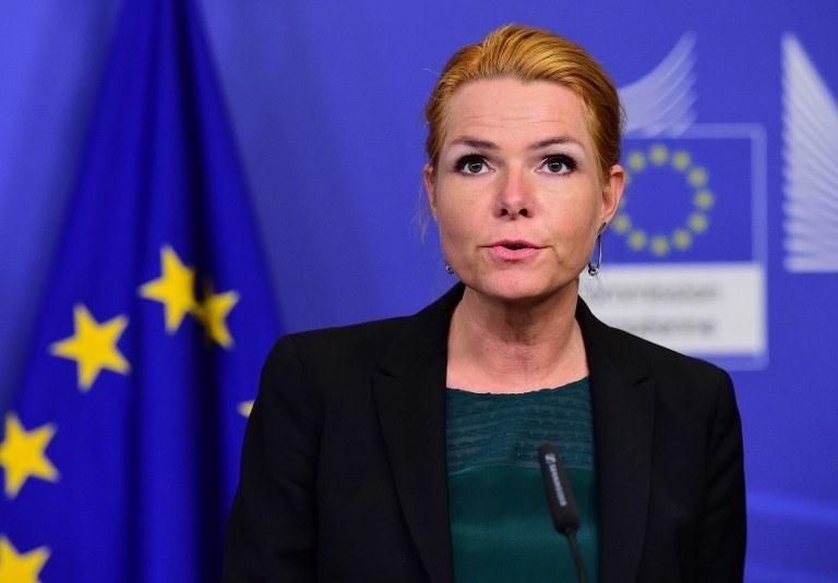 Duńska minister ds. imigracji i integracji Inger Stojberg /AFP
