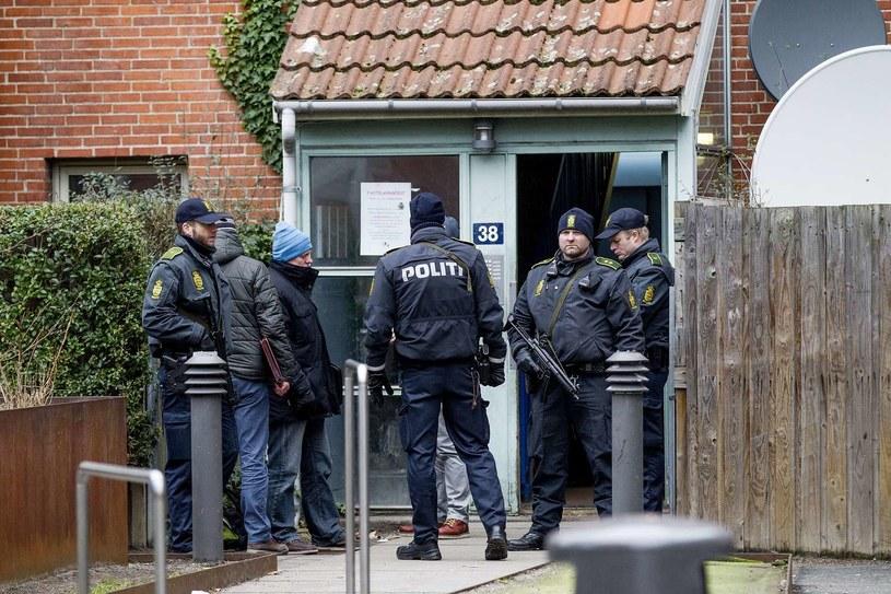 Duńska policja w Norrebro /AFP