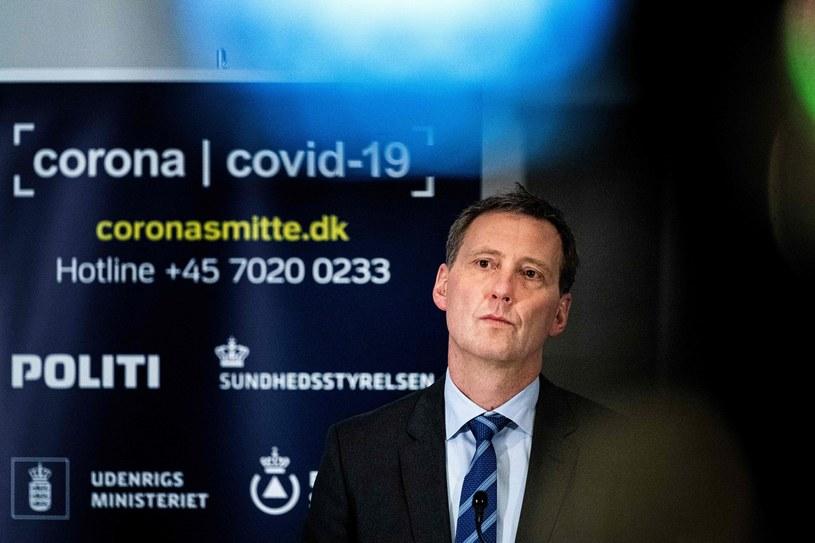 Duński minister sprawiedliwości Nick Haekkerup /Ida Guldbaek Arentsen /AFP
