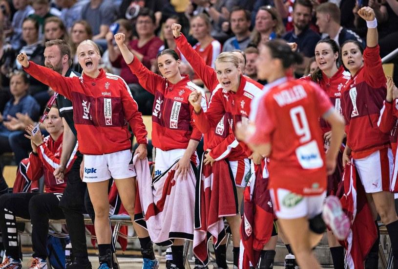 Duńskie piłkarki ręczne /AFP