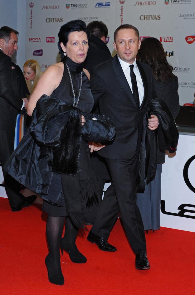Durczoka wspiera była żona! /Andras Szilagyi /MWMedia