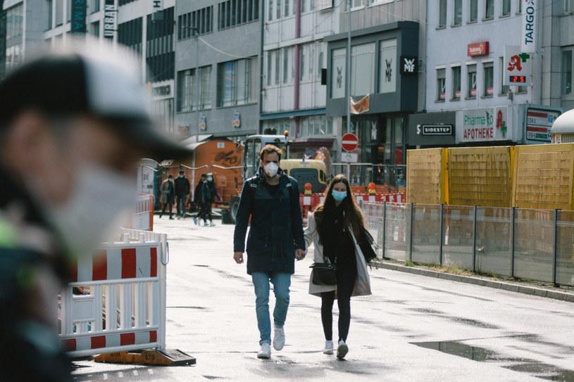 Dusseldorf, Niemcy, 2 maja 2020, pandemia koronawirusa /Ying Tang /Getty Images
