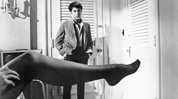"""Dustin Hoffman w scenie z filmu """"Absolwent"""" /materiały prasowe"""