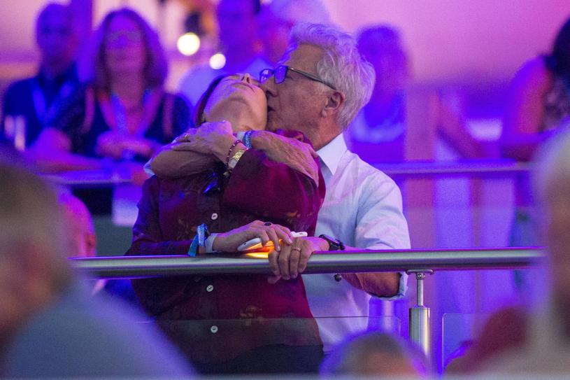 Dustin Hoffman z żoną /Agencja FORUM