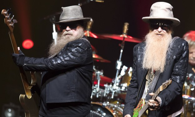 Dusty Hill i Billy Gibbons /LAURENT GILLIERON /PAP/EPA