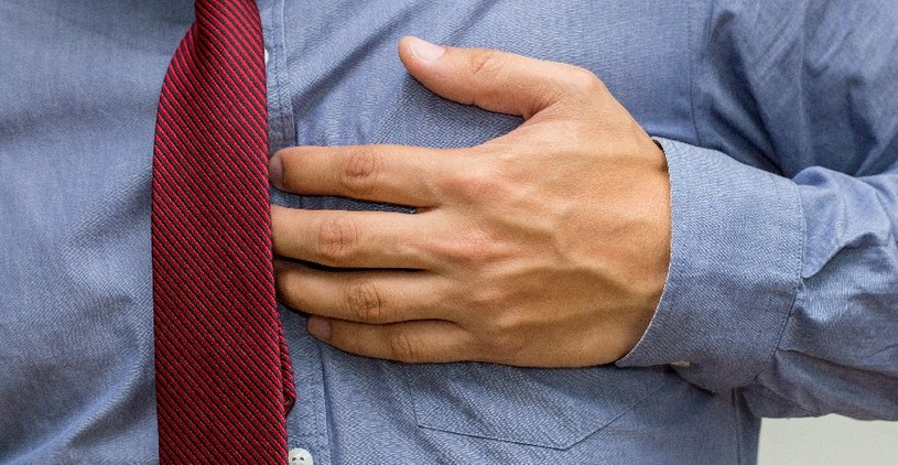 Duszność ma często związek z chorobami serca /123RF/PICSEL