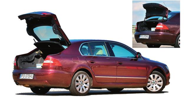 Duża klapa daje ogromny otwór ładunkowy, mała jest lekka i łatwa do otwierania. /Motor