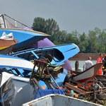 Duże szkody po trąbie powietrznej w rejonie Wenecji